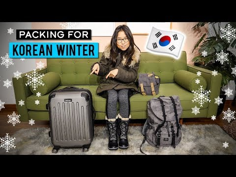 What I'm Packing for Korea's Winter