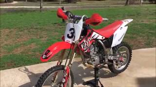 2013 Honda Crf`150RB Review/Start-up