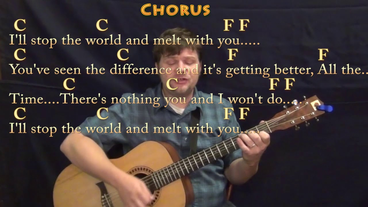 I Melt With You Modern English Guitar Cover Lesson With Chords