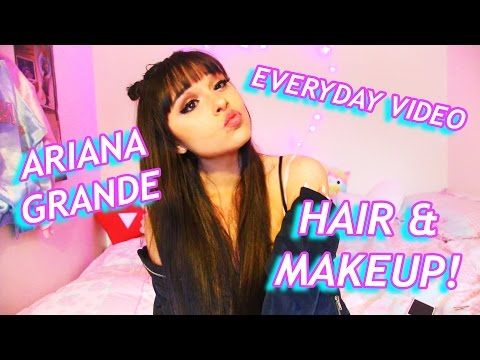Ariana Grande 'Everyday' Music Video Hair and Makeup! (chatty video!)