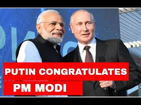 Putin congratulates Modi on his party's massive lead in LS elections
