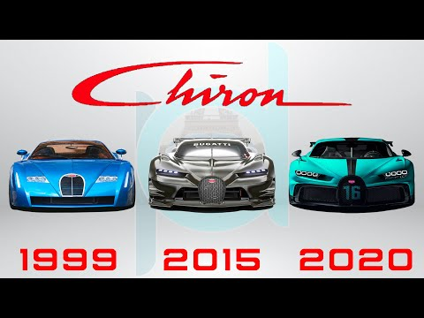 BUGATTI CHIRON EVOLUTION (1999-2020) The History of Chiron