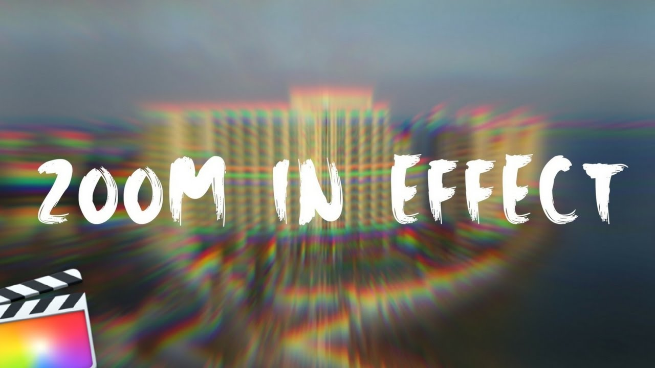 FREE RGB ZOOM TRANSITION EFFECT! FINAL CUT PRO X