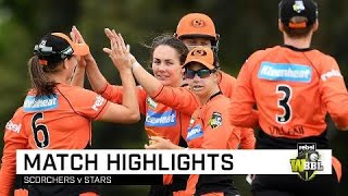 Scorchers cruise to victory over Stars | Rebel WBBL|04