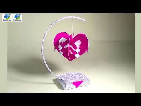 Incredible Paper Arts  || Beautiful Heart Shaped Crafts || SP Universal Videos