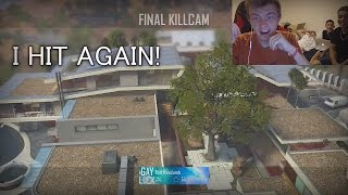I HIT A STRAIGHT UP TOMAHAWK! - BO2 TRICKSHOT