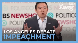 Andrew On Impeachment - December Debate