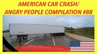 🇺🇸 AMERICAN CAR CRASH / ANGRY PEOPLE COMPILATION #88