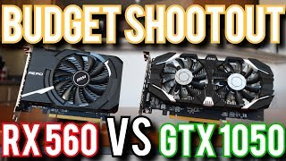 RX 560 vs GTX 1050: Can AMD Still Compete?