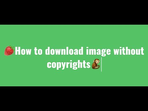 How to download image without copyrights | how to get pictures from Google without copyrights