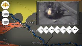 15 сентября 2017. Военная обстановка в Сирии. Россия ударила крылатыми ракетами «Калибр» по ИГИЛ.