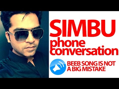Simbu open phone call about Beeb Song leaked - Controversial video - Cine Flick - 동영상