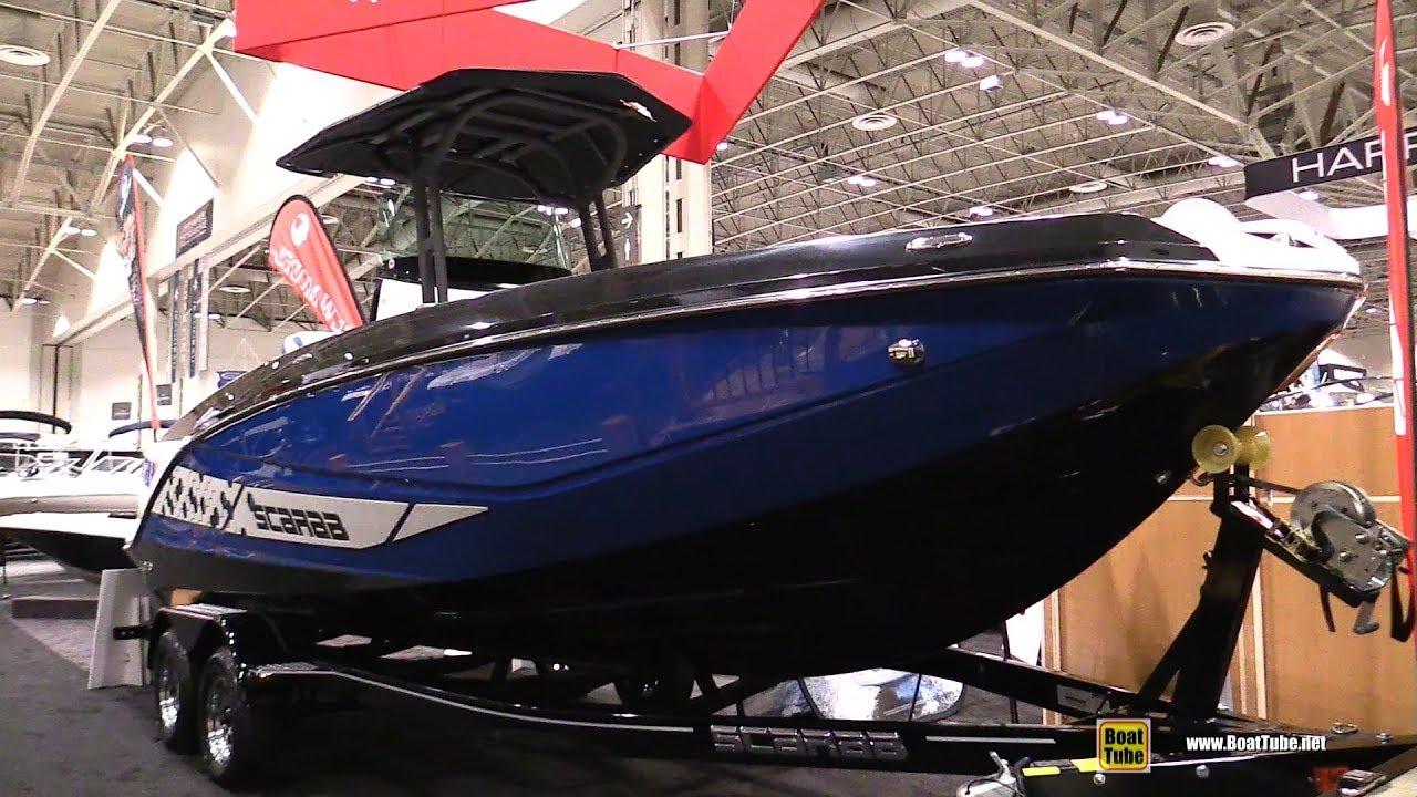 2018 Scarab 255 Open Motor Boat - Walkaround - 2018 Toronto Boat Show