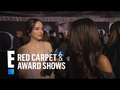 "Dakota Johnson Dishes on Filming ""Fifty Shades Darker"" 
