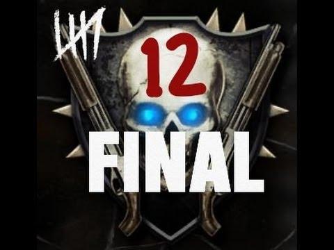 Road To Shotguns 12 Black Ops 2 Zombies Max Rank Highest Emblem