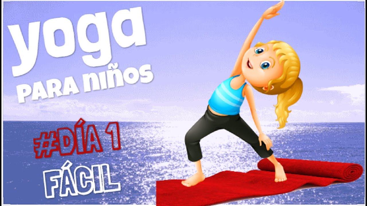 Yoga Para Ninos Dia 1 5 Ejercicios De Yoga Gimnasia Para Ninos Youtube