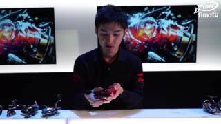 ジャパンフィッシングショー2016にて撮影された動画です。 DAIWAから登...
