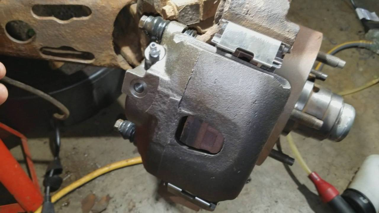 medium resolution of 1996 f150 brake caliper replacement