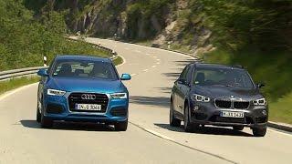 Audi Q3 vs. BMW X1 (2015) - Kompakt-SUV im Zweikampf