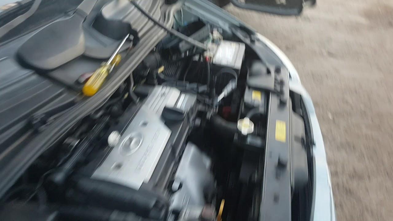 Hyundai getz starting problems