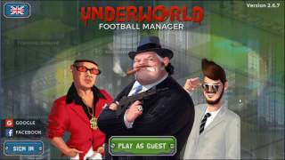 Underworld Football Manager - Episode 1 - Starting off