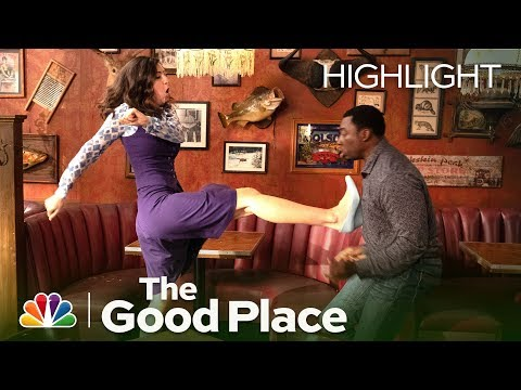 Janet Kicks Some Demon Butt - The Good Place (Episode Highli