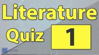 Literature Quiz | Number 1 | QuizMe