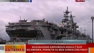 BT: Makabagong amphibious assault shop ng Amerika, ipinakita sa mga sundalong Pinoy sa Zambales