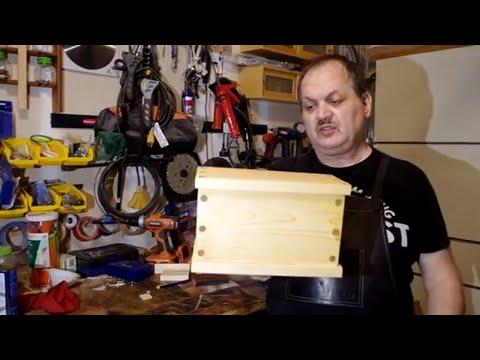 DIY HEIRLOOM BOX USING WOODEN JOINERY - NO METAL FASTENERS