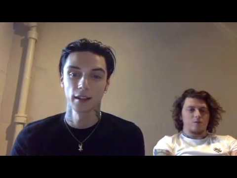 Andy Biersack and Ben Bruce Live Facebook Chat 02/02/18