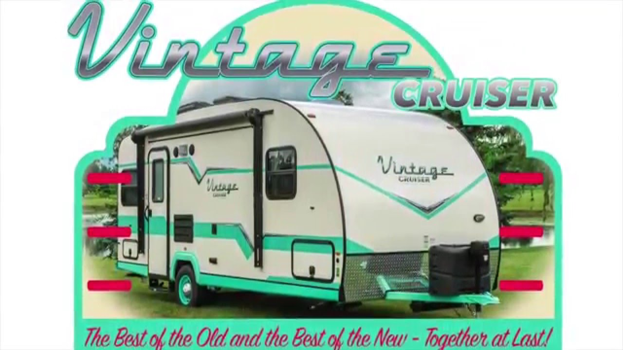 The vintage cruiser from gulf stream coach youtube - Lit roulotte vintage ...