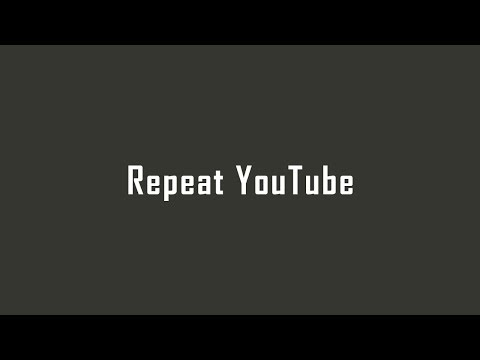 youtubeユーチューブ動画をリピート再生やループ再生するサイトの使い方PC・スマホiPhone・Android対応|Repeat YouTube