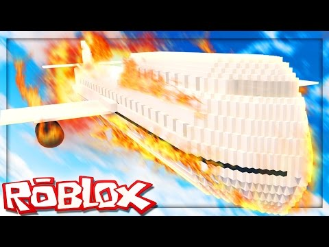 Roblox Adventures - SURVIVE A PLANE CRASH IN ROBLOX! (Survive a Plane Crash into an Island)