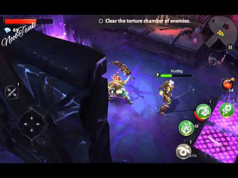Dungeon Hunter 5 (DEATH/DARK FEATHER) Farming.