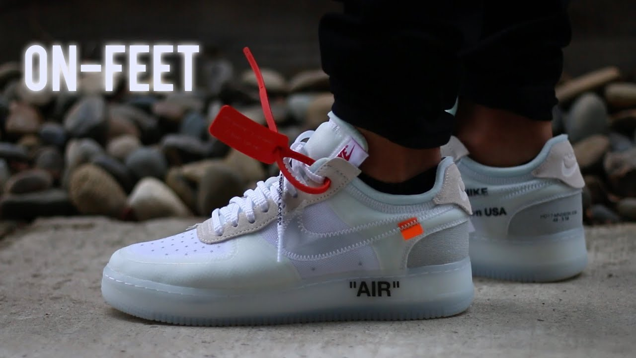 sports shoes 0fe2c 1ef63 Nike x Off White Air Force 1