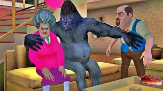 Scary Teacher 3D New Update New Levels Bad Kong Clusion (Android,iOS)