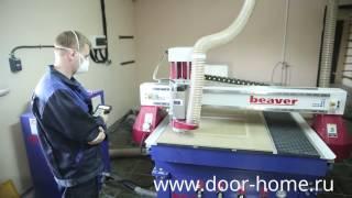 Производство МДФ-панелей на металлические двери(, 2016-09-05T09:37:04.000Z)