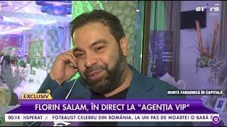 """Florin Salam, declarații în exclusivitate la Agenția Vip: """"De la 14 ani sunt cap de familie"""""""