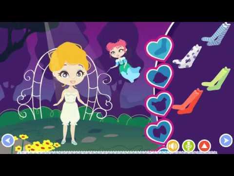 Золушка игра сказка видео
