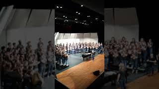 Rockwall High School 2018 Chorale sing Balleilakka by A.R. Rahman