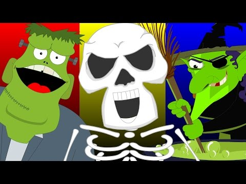 Halloween Night | Popular Nursery Rhymes Videos For Children | Childrens Rhymes Kids Song