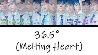 [3.83 MB] [Color Coded Lyrics] THE BOYZ (더보이즈) - 36.5° (Melting Heart) [Han/Rom/Eng]