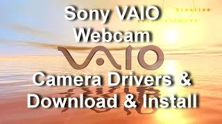 Universal install drivers Sony VAIO Webcam, Camera Drivers & Download and install,
