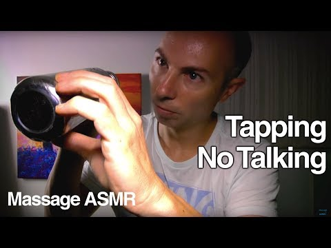ASMR Touch Tapping 8.1 No Talking Tapping Ear to Ear