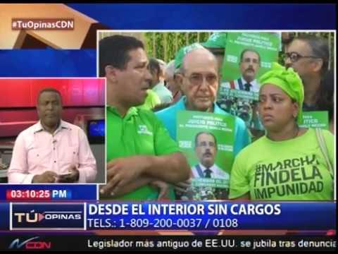 ¿Considera prudente un juicio político al presidente Danilo Medina por caso Odebrecht?