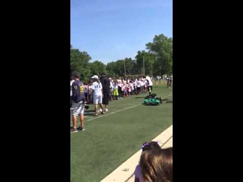 Thomas Davis football camp 2015