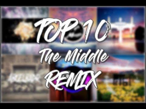 Zedd, Maren Morris, Grey - The Middle (Top10 Remix song) | Remix world