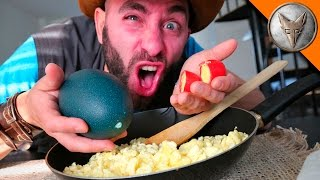 Puke Egg Challenge! YUCK!