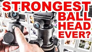STRONGEST BALL HEAD | Manfrotto or Arca Swiss plate | Foton SGF1F 3D SGF2M REVIW