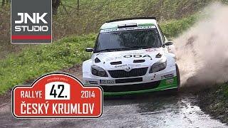 42. Rallye Český Krumlov 2014
